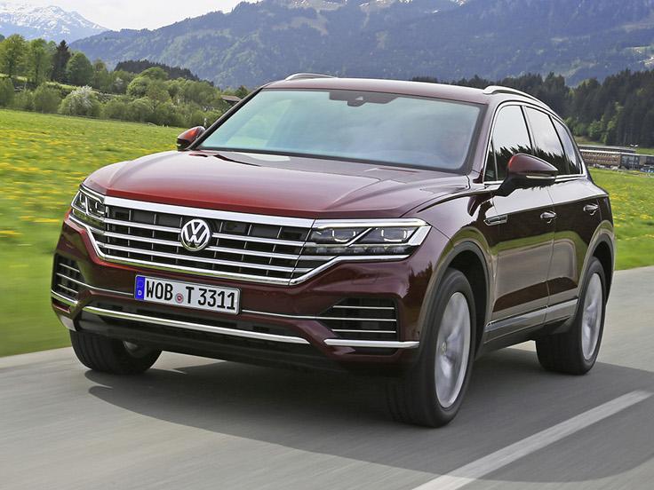 VW начал принимать заказ на новый Tuareg