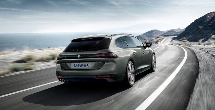 Peugeot представила стильный универсал 508 SW