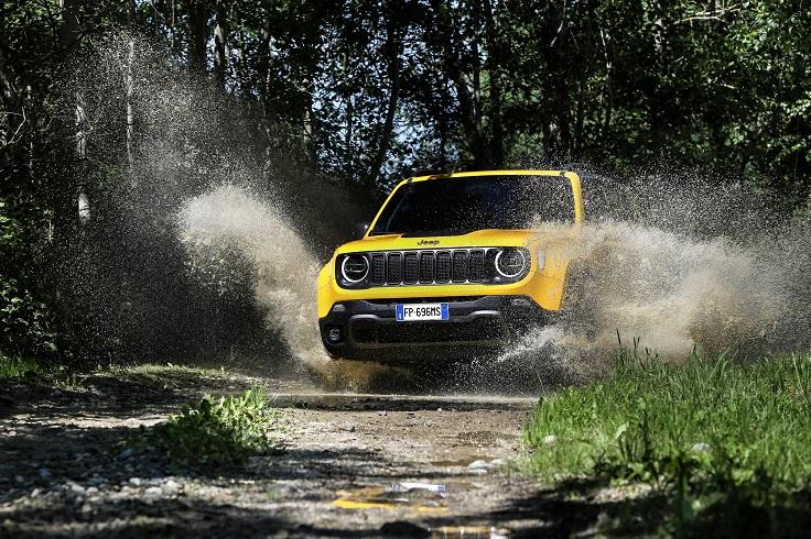 Новый джипик для дам - рестайлинг Jeep Renegade