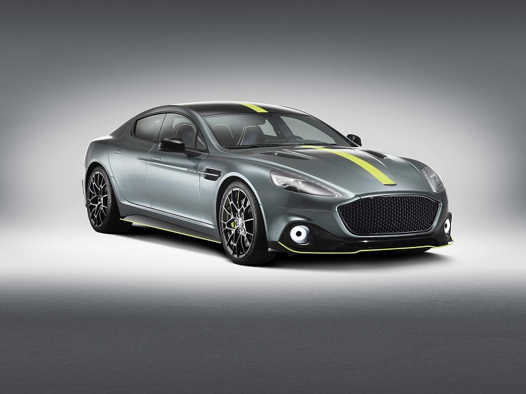 Aston Martin выпустил самую мощную 4-дверку