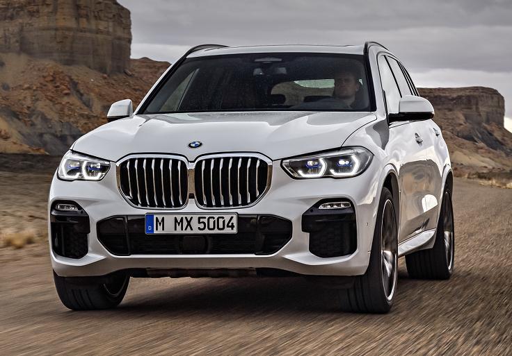 Объявлены российские цены на новый BMW X5