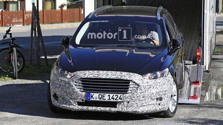 Новый Форд Мондео поймали на летних испытаниях