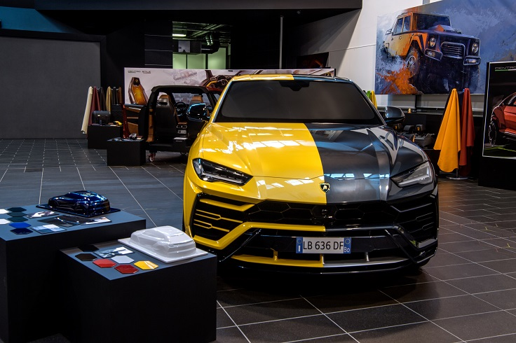 Lamborghini готовит новый седан?
