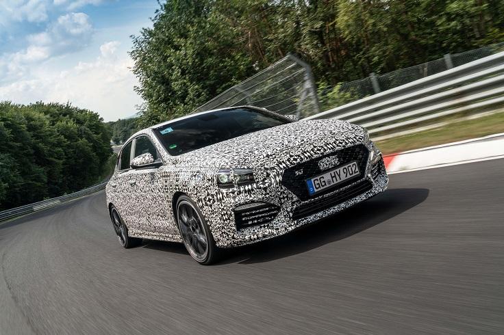 Hyundai оттачивает быстрый фастбек i30 N на Нюрбургринге