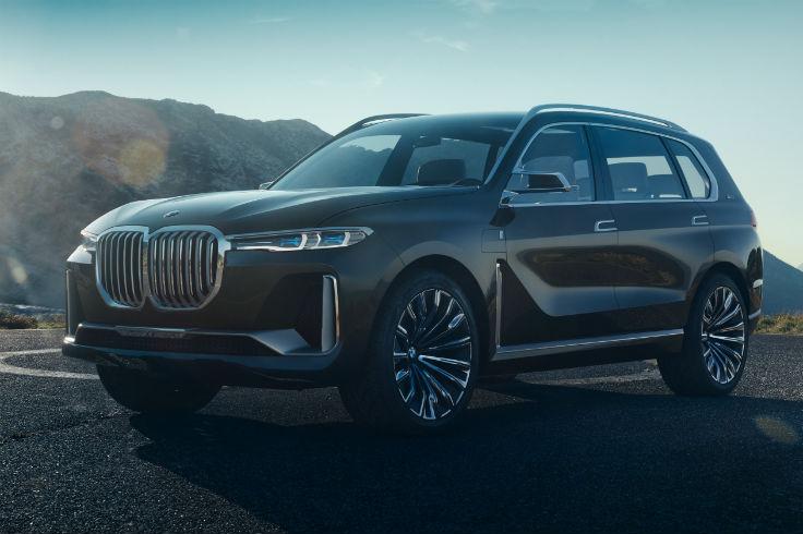 На видео показали, как испытывают BMW X7