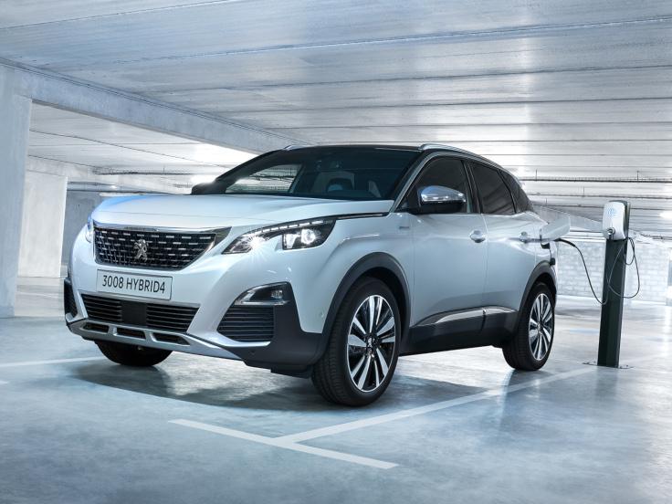 Peugeot 3008 Hybrid4 2019