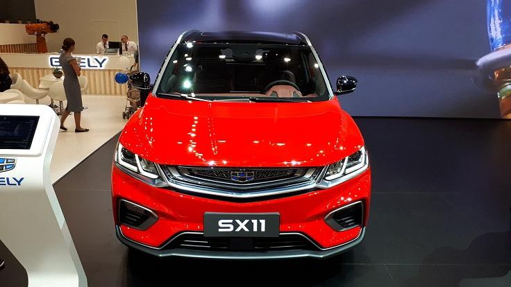Новый Geely SX11 дебютирует в России