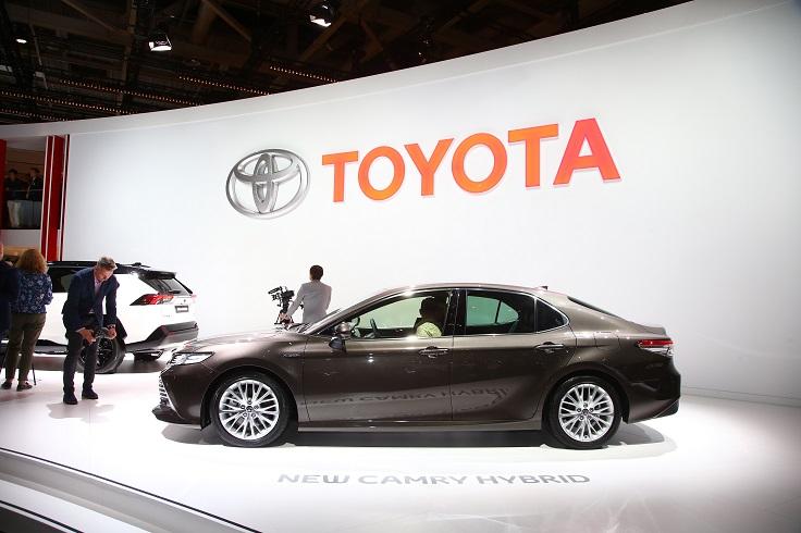 Представлена новая версия Toyota Camry