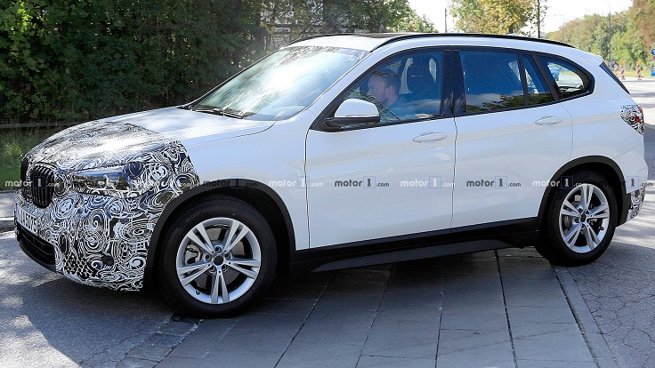 BMW представит обновлённый X1