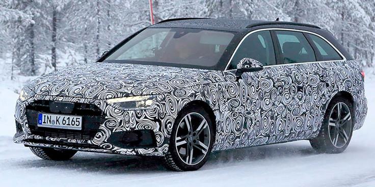 Шпионы засняли на тестах обновленный универсал Audi A4 Avant