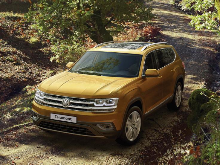 Volkswagen улучшил оснащение Teramont для России