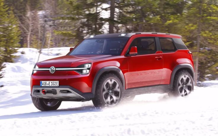 Volkswagen разрабатывает внедорожник в стиле Defender и Gelandewagen