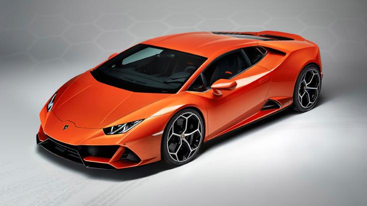 Обновленный Lamborghini Huracan Evo: агрессия и мощь