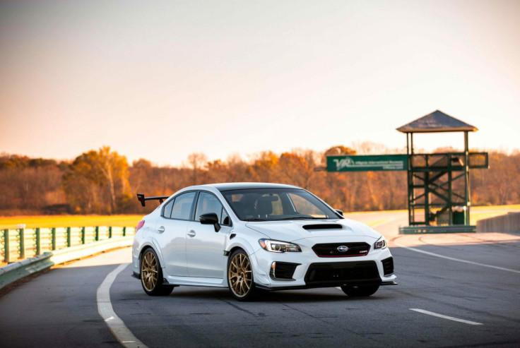 Subaru представила очень быструю версию WRX STI