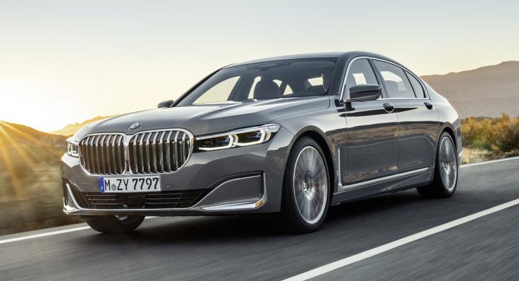Ну и ноздри! BMW 7- Series вышла в люди